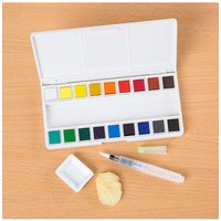Watercolour Pallette - Set of 18