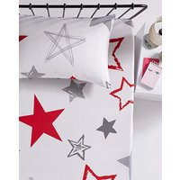 Harley Stars 2pk Fitted Sheet.