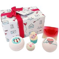 Bath Bomb Jar of Hearts Gift Pack.