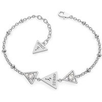 Guess Queen of Hearts Silver Bracelet.