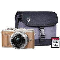 Olympus PEN E-PL9 Brown CSC Camera Kit