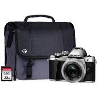 Olympus E-M10 MK II Silver Camera Kit