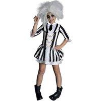 Girls Miss Beetlejuice Costume