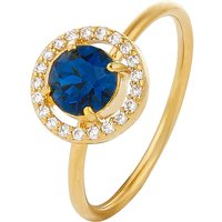Accessorize Swarovski Sparkle Halo Ring