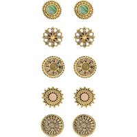 Accessorize 5 X Wild Country Stud Set