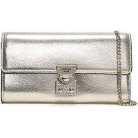 Guess Lynda Pebbled Diamante Clutch Bag