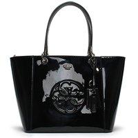 Guess Kamryn Patent Shopper Tote Bag