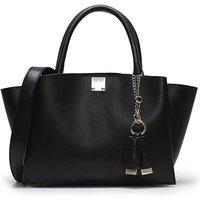 Guess Lenia Smooth Satchel Bag