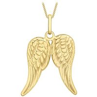 9Ct Gold Pair Of Wings Necklace