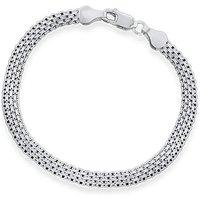 Sterling Silver Four Strand Bracelet