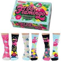 Go Flamingo Oddsocks.