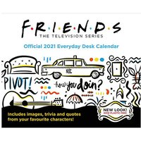 Friends Page A Day Calendar.