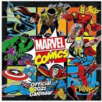 Marvel Comics Calendar.