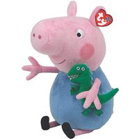 TY Peppa Pig Buddy - George at JD Williams Catalogue