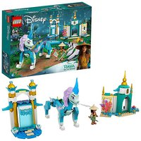 LEGO Disney Raya and Sisu Dragon.