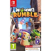 Worms Rumble CODE IN A BOX Switch.
