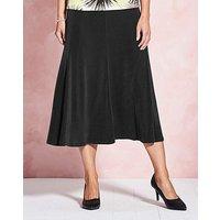 Plain Slinky Skirt Length 29in at JD Williams Catalogue
