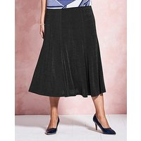 Plain Slinky Skirt Length 29in at JD Williams Catalogue
