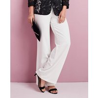 Wide Leg Crepe Trouser