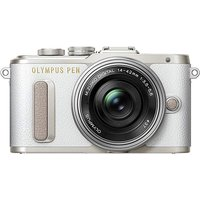 Olympus Pen Mirrorless Camera With Lens.