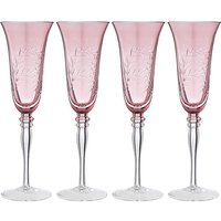 Joe Browns Set of 4 Champagne Flutes