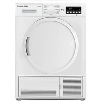 8KG Condenser Sensor Tumble Dryer, White