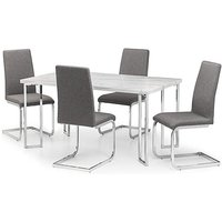 Rimini Dining Table With 4 Zeta Chairs.