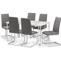 Rimini Dining Table With 6 Zeta Chairs.