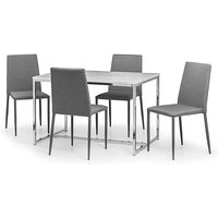 Milano Dining Table & 4 Chairs.
