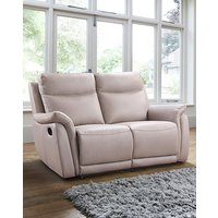 Falmouth Leather 2 Seater Recliner Sofa