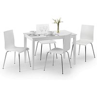 Cosmo Dining Table with 4 Dining Chairs.