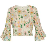 Gina Bacconi Merida Embroidered Bolero
