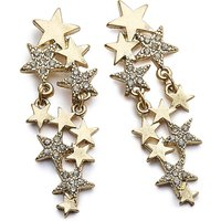 Star Statement Earrings.