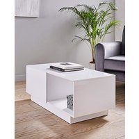 Allure High Gloss Storage Coffee Table