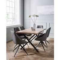 Karter Large Dining Table and 6 Chairs.