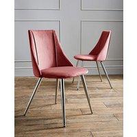 Anais Velvet Pair of Chairs