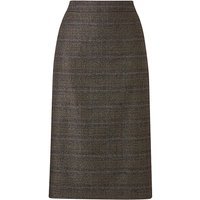 Petite Check Pencil Skirt