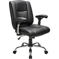 Clinton Faux Leather Office Chair.