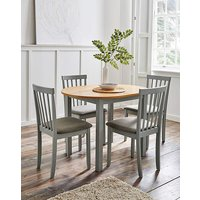 Salcombe Dining Table with 4 Chairs.