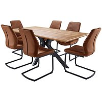 Austin Table and 6 Houston Chairs.