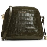 Michael Kors Moc Croc Dome Messenger Bag
