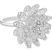 Jon Richard Crystal Cluster Flower Ring