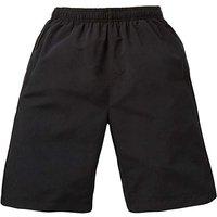 Capsule Black Leisure Shorts