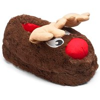 Animotions Wiggly Ear Reindeer Slippers