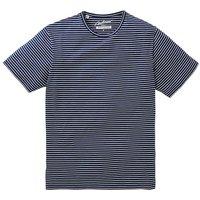 Jacamo Douglas Stripe T-Shirt Regular