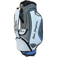 Ben Sayers Dlx Tour Bag - White/blue