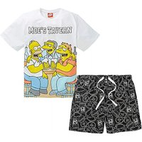 The Simpsons Moes Tavern Shorts PJ Set