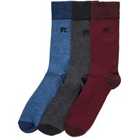 French Connection Pack of 3 Socks
