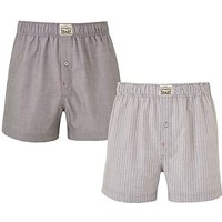 Levis Pack of 2 Chambray Woven Boxers