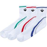 Snowdonia Pack of 3 Trainer Socks